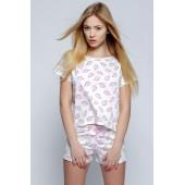 Пижама женская с шортами Sensis Ice cream
