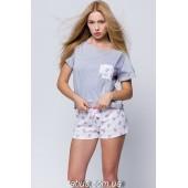 Пижама женская с шортами Sensis Little Pig