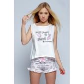 Пижама женская с шортами Sensis Lody