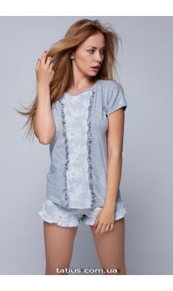 Пижама женская с шортами Sensis Natali