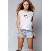 Пижама женская с шортами Sensis Pink Smile