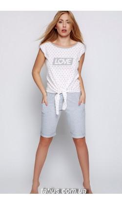 Пижама женская с шортами Sensis Polina