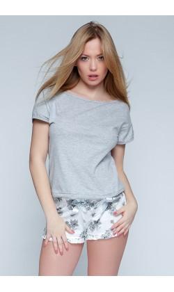 Пижама женская с шортами Sensis Romantic