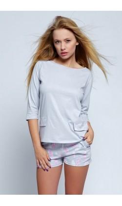 Пижама женская с шортами Sensis Sara
