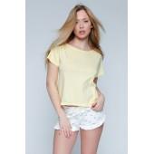 Пижама женская с шортами Sensis Yellow