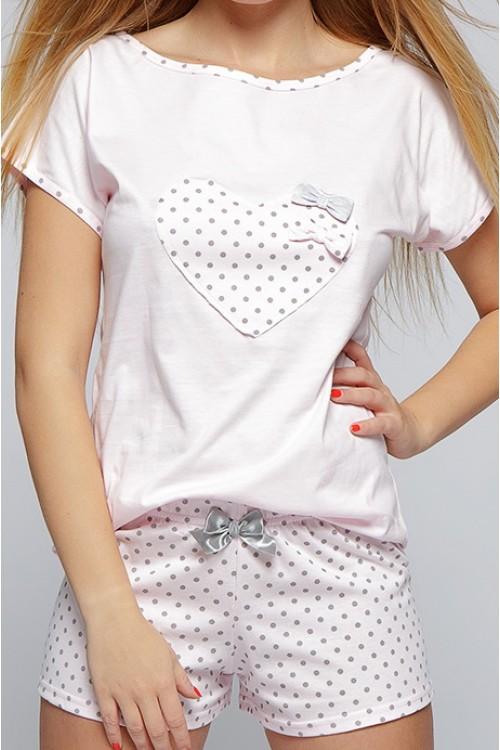 d9c5cd14e5d00 Пижама женская с шортами Sensis Groszki - купить в интернет магазине ...