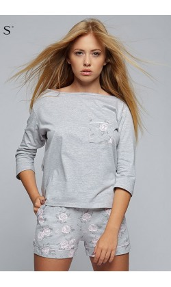 Пижама женская с шортами Sensis Jessica