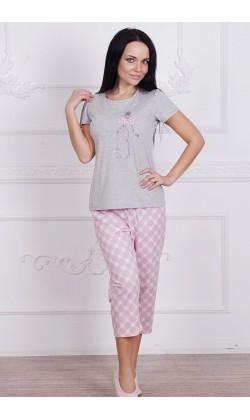 Пижама женская с бриджами Roksana Mademoiselle-595