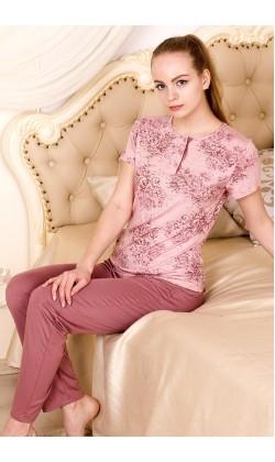 Пижама женская Roksana Rose Garden-621