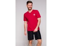 Пижама мужская с шортами Taro Borys-2196,Красный
