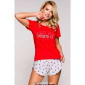 Пижама женская с шортами Taro Nessa-2288,Вишня