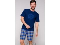 Пижама мужская с шортами Taro Nikodem-2085,Синий