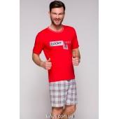 Пижама мужская с шортами Taro Szymon-2086,Красный