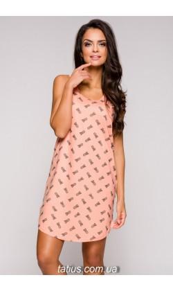 Ночная сорочка Tiffany-2166,Персиковый