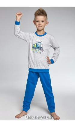 Детская пижама для мальчика Cornette Train 593/74