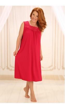Ночная сорочка женская Violet delux НС-М-42,Азалия