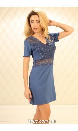 Ночная рубашка женская Violet Delux НС-М-87,Джинс