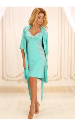 Комплект халат+сорочка
