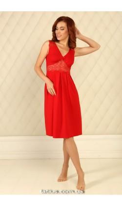 Ночная сорочка женская Violet delux НС-М-39,Carmine
