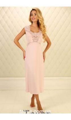Ночная сорочка женская Violet delux НС-М-60,Розовый