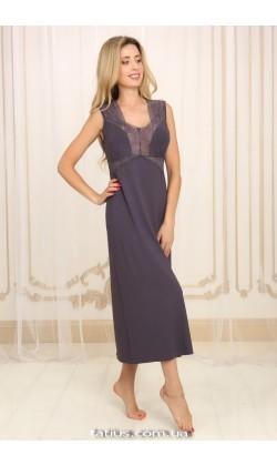 Ночная сорочка женская Violet delux НС-М-60, Лавандовый туман