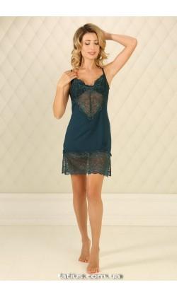 Ночная сорочка женская Violet delux НС-М-71,Малахит