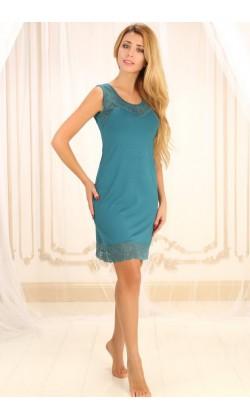 Ночная сорочка женская Violet delux НС-М-75, Изумруд