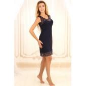 Ночная сорочка женская Violet delux НС-М-75, Синий