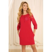 Ночная рубашка женская Violet delux НС-М-79, Азалия