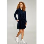 Халат женский велюровый Ellen Siena LDG 118/001