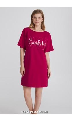 Ночная рубашка женская Ellen Confeti LDK 120/03/01