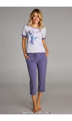 Пижама женская c капри Ellen LNP 304/001