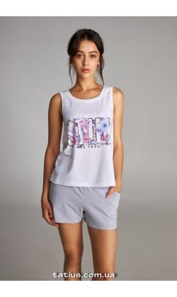 Пижама женская c шортами Ellen LNP 306/001
