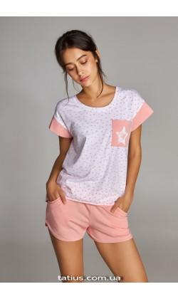 Пижама женская c шортами Ellen LNP 308/001