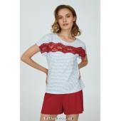 Пижама женская c шортами Ellen Jade LPK 2873/01/01