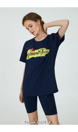 Пижама женская c бриджами Ellen Flaming LPK 2996/01/01