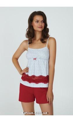 Пижама женская c шортами Ellen Jade LPK 4470/01/01