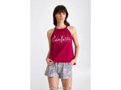 Пижама женская c шортами Ellen Confetti LPK 4870/01/01