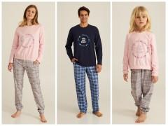 Теплые пижамы серии Family Look от ТМ Ellen