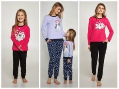 Одинаковые пижамы для мамы и дочки от ТМ Ellen