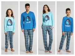 Пижамы для всей семьи Family Look «Festival» от ТМ ELLEN коллекция осень-зима 2019/2020