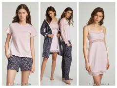 Пижамы,комплект халат с сорочкой от ТМ ELLEN «Flower dream»