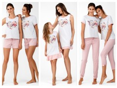 Коллекция стильных пижам весна-лето 2019 от ТМ ELLEN «Цветочное сердце»
