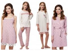Модное направление домашней одежды для мамы и дочки от ТМ ELLEN