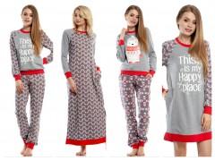 Новогодняя коллекция 2017/2018 пижам и ночных рубашек от ТМ ELLEN