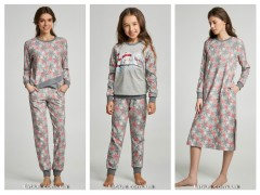 Теплая домашняя одежда от ТМ ELLEN коллекция осень-зима 2019/2020 «Snow»