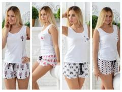 Пижамы женские из натурального хлопка от ТМ MiaNaGren XS-3XL