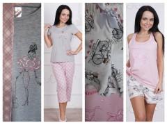 Пижамы женские из летней коллекции «Mademoiselle» от ТМ Roksana