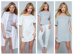 Коллекция «Heart» ночные рубашки, пижамы, халат от ТМ Sensis