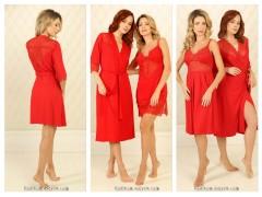 Новые оттенки 2019 женских халатов и сорочек из вискозы от ТМ Violet Delux